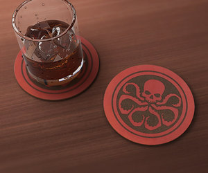 Avengers, captain america, and drink image