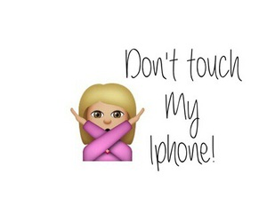 my, phone, and touch image