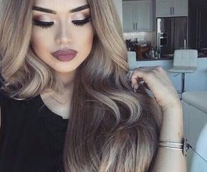 beauty, tumblr, and makeup image