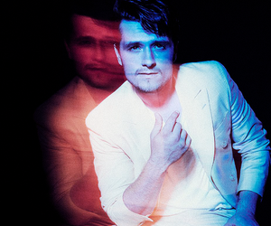 josh hutcherson, mockingjay, and photoshoot image
