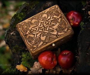 apple, box, and magic image