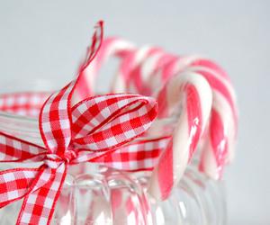 candy cane, christmas, and jar image