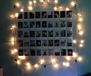 decor, fairy lights, and lights image