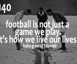 soccer, football, and quote image