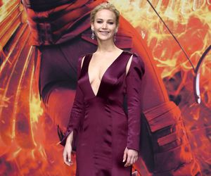 dress, premiere, and the hunger games image