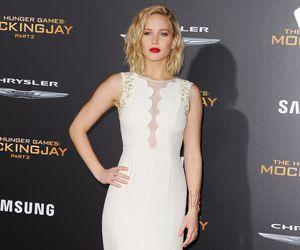 Jennifer Lawrence and dress image