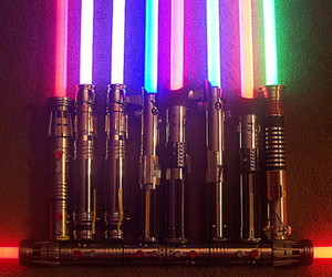 star wars and lightsaber image