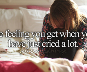 cry, feeling, and justgirlythings image