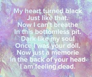grunge, sad, and heartbrake image