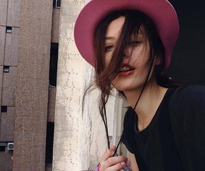girl, grunge, and hat image