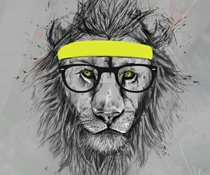 animal, art, and hipster image