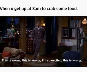 food, hilarious, and the big bang theory image
