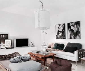 beautiful, design, and living room image