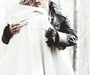 once upon a time, captain swan, and Jennifer Morrison image