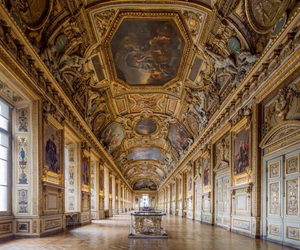 architecture and louvre image