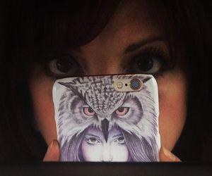 owl and redbubble image