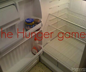 hunger games, fridge, and funny image