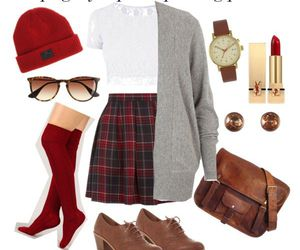 hipster, makeup, and outfits image
