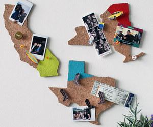 map, diy, and memories image