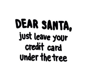 christmas, santa, and quotes image