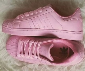 pink and adidas image