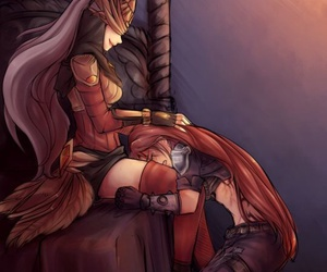 Katarina, league of legends, and syndra image