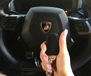 fashion, exotic cars, and nails image