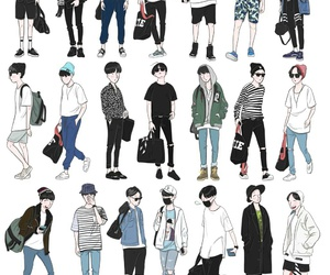 fashion, jhope, and hoseok image