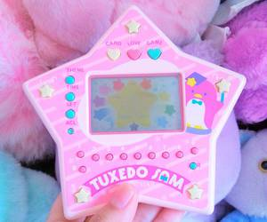 pink, kawaii, and star image