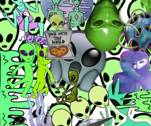 alien, Ovni, and tumblr image