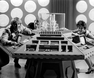 1983, black and white, and doctor who image