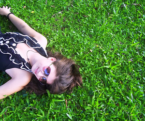 colors, green, and girl image