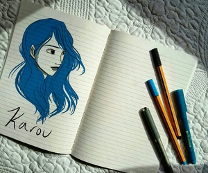 book, karou, and kitap image