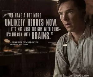 the imitation game, hero, and quote image