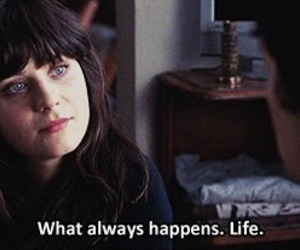 life, 500 Days of Summer, and quote image