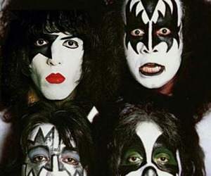 kiss, rock, and band image