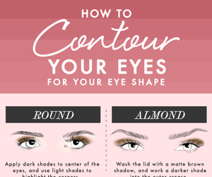beauty, contour, and eyes image
