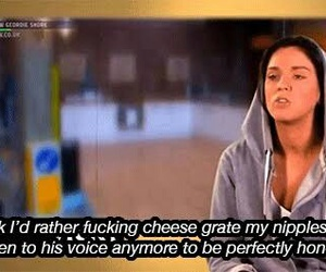 funny, vicky, and geordie shore image