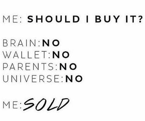 brain, buy, and fashion image
