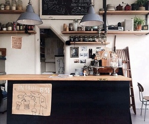 coffee, indie, and kitchen image