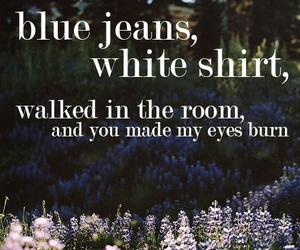 blue jeans, lana del rey, and song image