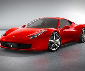cars, red, and ferrari 458 italia image