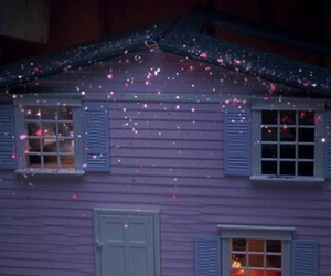 grunge, pink, and house image