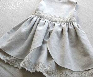 baby clothes and baby girl dress image