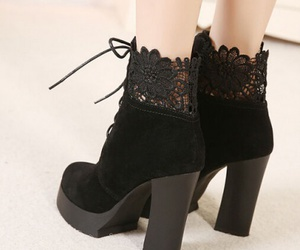 fashion boots, women boots, and cheap women shoes image