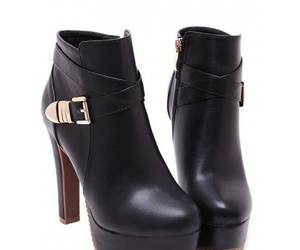 ankle boots, knee high boots, and snow boots image