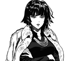 one punch man, manga, and blizzard of hell image