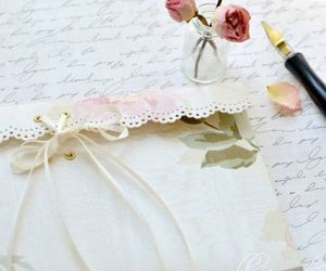 vintage, Letter, and romantic image