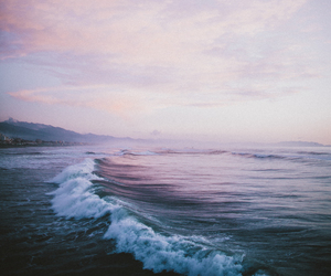 nature, ocean, and grunge image