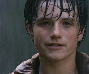 josh hutcherson, bridge to terabithia, and rain image